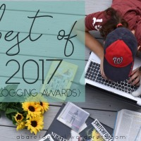 Best of 2017 {Blogging Awards - Results}